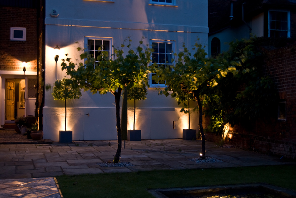 Garden Installations Lighting with Steve Electric Express